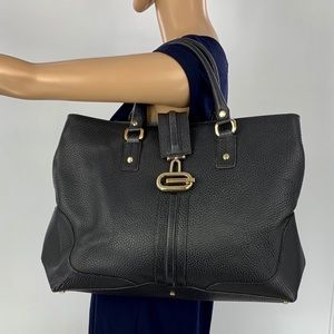 💎 Gucci 💎 Black Leather Tote